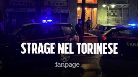 Strage nel Torinese, pensionato uccide quattro persone e prova a suicidarsi: è in fin di vita