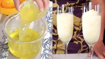 Sorbetto al limoncello fatto in casa: la ricetta semplicissima e gustosa