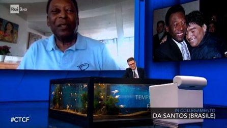 Pelé ricorda Maradona: migliore di me? Facevo gol in tutti modi