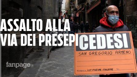 """Napoli, artigiani di San Gregorio Armeno: """"Stremati. Pub pronti a compare le botteghe del presepe"""""""