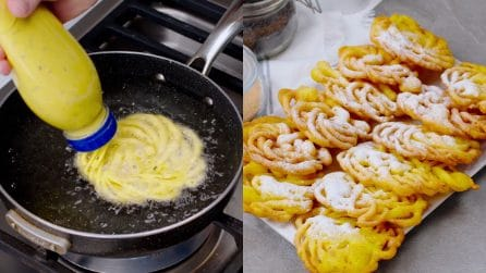 Spiral fritters: an alternative way to make them!