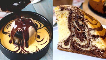 Torta zebrata soffice: pronta in 5 minuti e con un semplice trucchetto!