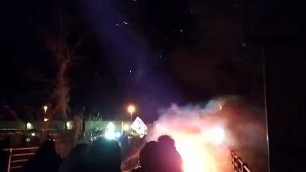 No Tav, notte di scontri in Val Susa per lavori nuovo autoporto