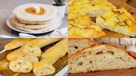4 Alternative fragranti al solito pane!