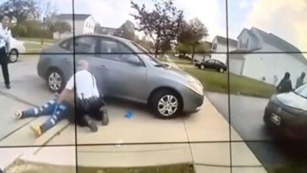 Le immagini della body cam rilasciate dai poliziotti di Columbus