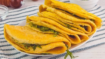 Tortilla omelettes: for a quick and tasty dinner!