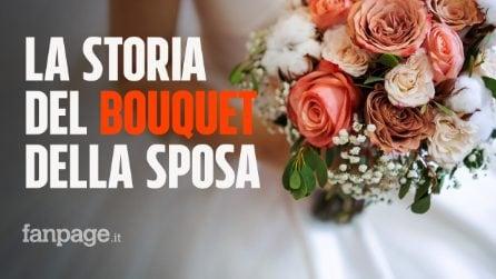 """La leggenda del lancio del bouquet al matrimonio: in origine era un """"agguato"""" alla sposa"""