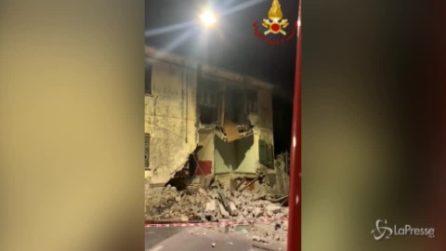 La Spezia, crollo parziale di una casa: era per fortuna disabitata