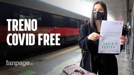 """Parte il primo treno Covid Free da Roma Termini: """"Viaggiare sicuri per far ripartire il turismo"""""""