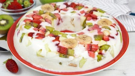 Fruit pudding: the fresh dessert for surpise your guests!