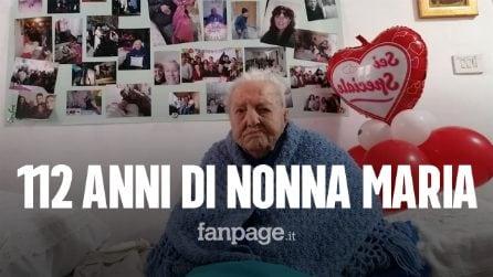 """Nonna Marietta compie 112 anni, è la nonnina più anziana d'Italia: """"Orgoglio di tutta la Sicilia"""""""