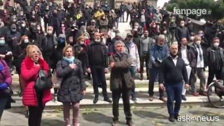 Troppi lavoratori precari, protesta il Teatro dell'Opera di Roma