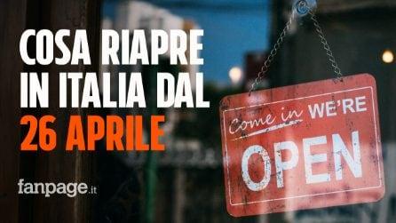 Il calendario del Governo per la ripartenza: cosa riapre in Italia dal prossimo 26 aprile