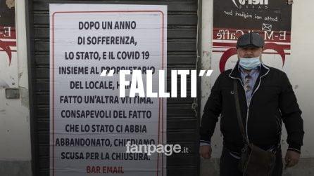La storia di Angelo ed Enrico: tutti i risparmi per aprire il bar, fallito causa Covid