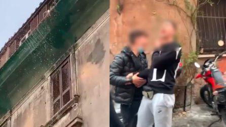 Roma, a Trastevere qualcuno butta acqua sulla movida e si prende le parolacce dei ragazzi