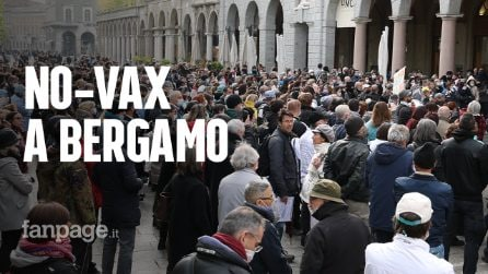 """Bergamo, 600 no-vax (e sanitari) nella provincia simbolo della pandemia: """"Nei vaccini feti abortiti"""""""