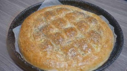 Pane turco fatto in casa: la ricetta per averlo soffice e gustoso