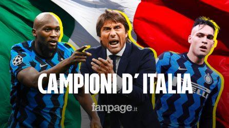 L'Inter è campione d'Italia: i nerazzurri conquistano il 19° scudetto della loro storia