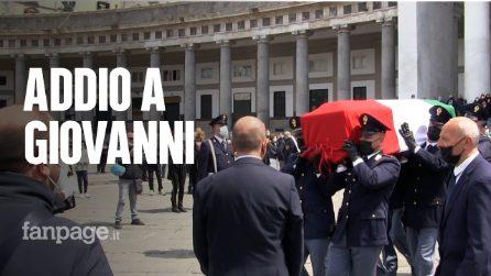 """A Napoli i funerali del poliziotto Vivenzio, donati gli organi. La figlia: """"Salverai 5 persone"""""""