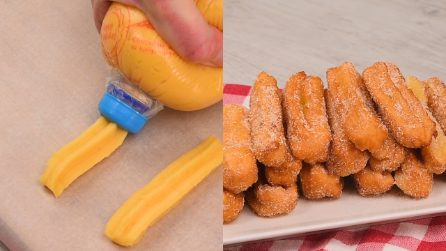 Churros: how to make them sweet and crunchy!