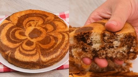 Torta marmorizzata al caffè: il dolce senza burro da gustare nelle tue pause!