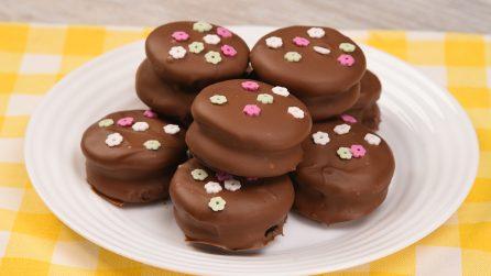 Bocconcini di pancake al cioccolato: ideali per una pausa sfiziosa!