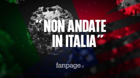 """Gli Stati Uniti sconsigliano ai propri cittadini di viaggiare in Italia: """"Rischio Covid troppo alto"""""""