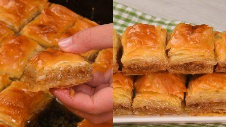Baklava alle noci: un dolce facile e saporito da provare subito!