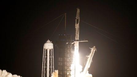 Space X, il lancio della Crew Dragon 2 di Elon Musk