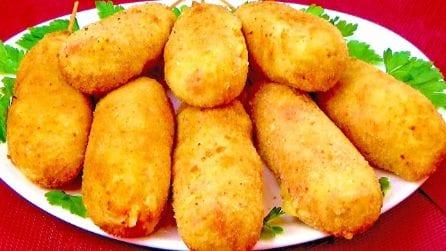 Crocchettoni di patate: la ricetta per averli perfetti e gustosi