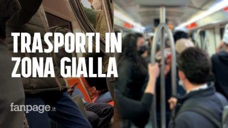 Roma, torna la zona gialla: viaggio sui mezzi pubblici nel primo giorno di riaperture
