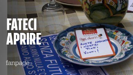 """Napoli, ristoratori senza spazi esterni: """"Fateci riaprire, nessun focolaio Covid nei ristoranti"""""""
