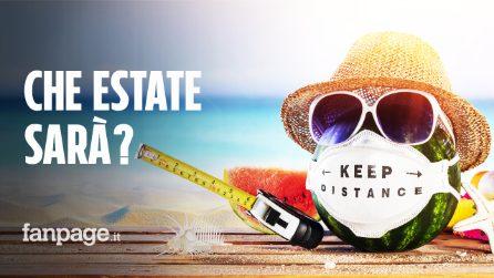 """Estate 2021, secondo il Cts: """"Vacanze più tranquille"""". Restano mascherine e distanziamento sociale"""