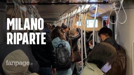Milano riparte dalla zona gialla: com'è andato il primo giorno tra scuole, bar e ristoranti aperti