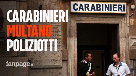 Cosenza, carabinieri multano i poliziotti per assembramento in un bar