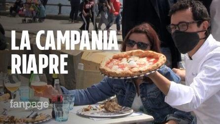 """Campania in zona gialla, riaprono i ristoranti all'aperto: """"Ora basta chiusure"""""""