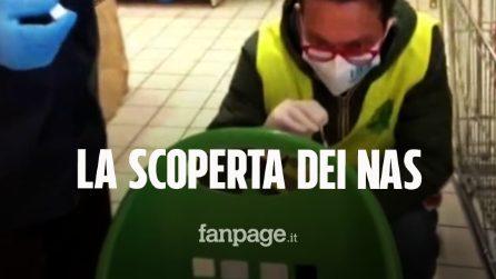 Tracce di Coronavirus su Pos, cestini e carrelli: cosa hanno scoperto i carabinieri dei NAS