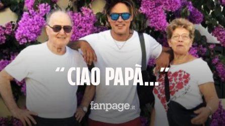 """Lutto per Gabriel Garko, morto il padre Claudio Oliviero: """"Ciao papà..Fai buon viaggio"""""""