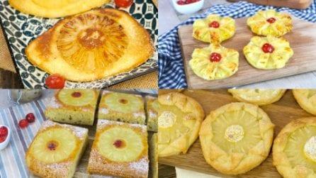 Ananas che passione! Se sei un fan di questo frutto esotico amerai queste ricette!
