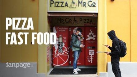 A Roma nasce il primo distributore di pizza: e la margherita è pronta in tre minuti