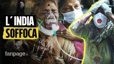 L'India sta soffocando, 380mila contagi al giorno: non si trova più ossigeno per i malati Covid