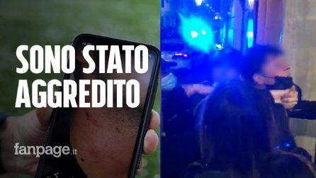 """Roma, ragazzo accusa i vigili urbani: """"Mi hanno preso per il collo, difendevo solo un'amica"""""""