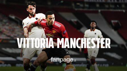 Europa League, Manchester United-Roma 6 a 2: il giallorossi cedono nella ripresa