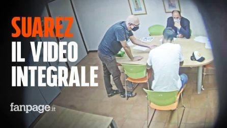 Suarez, il video integrale dell'esame ripreso da una telecamera nascosta