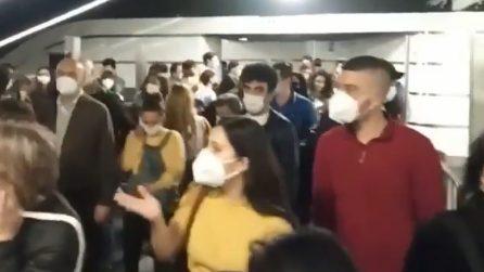 Roma, Metro B interrotta: disagi per i viaggiatori
