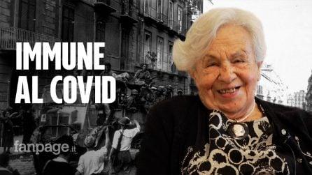 """Nonna Livia, immune Covid a 94 anni: """"Ho visto guerre ed eruzione del Vesuvio. Oggi siamo impotenti"""""""