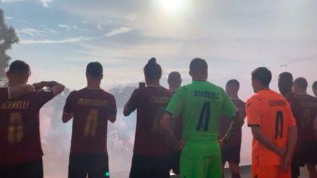 Salernitana, calciatori fanno festa con migliaia di tifosi assembrati