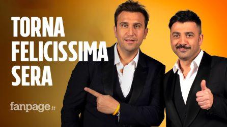 Pio e Amedeo confermati da Mediaset: Felicissima Sera torna con una seconda edizione