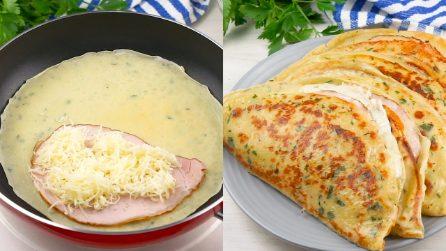 Crepes di patate filanti: perfette per una cena da preparare in pochi minuti!