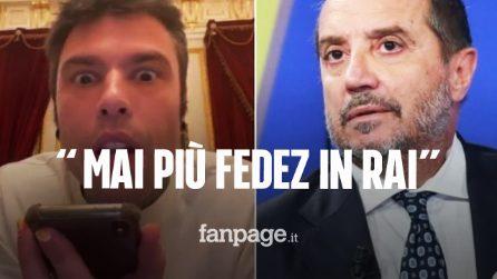 """""""Mai più Fedez in Rai finché non ammette di avere sbagliato"""": la decisione dopo il Primo Maggio"""